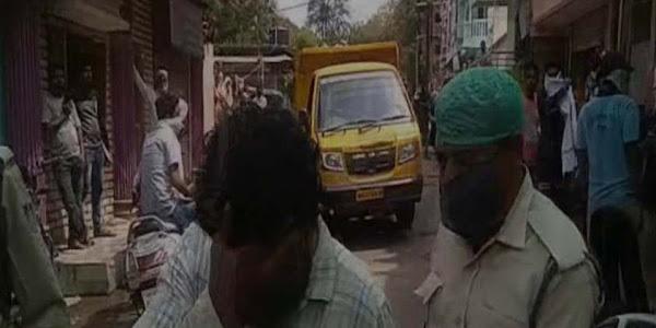 अवैध रूप से मांस विक्रय कर रहे दो व्यापारियों पर कार्रवाई