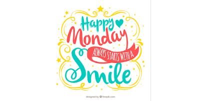 Happy Monday always starts with a smile