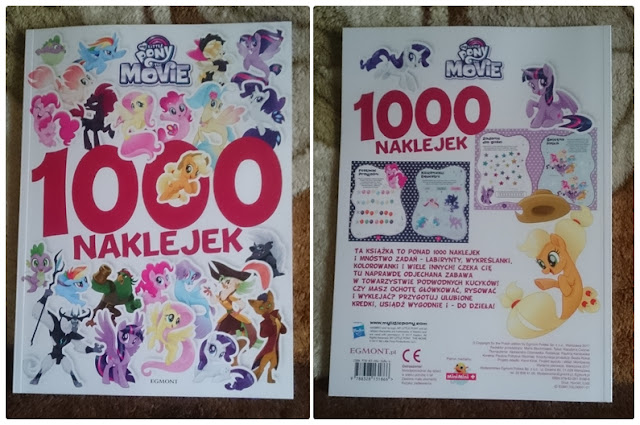 [Recenzja] My Little Pony The Movie. 1000 naklejek