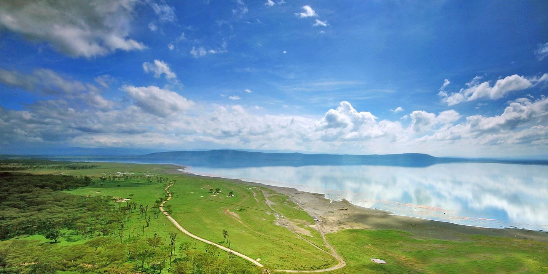 Красоты озера Накуру в Кении