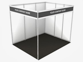 Sample Booth Set up