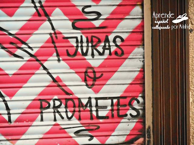 juras o prometes