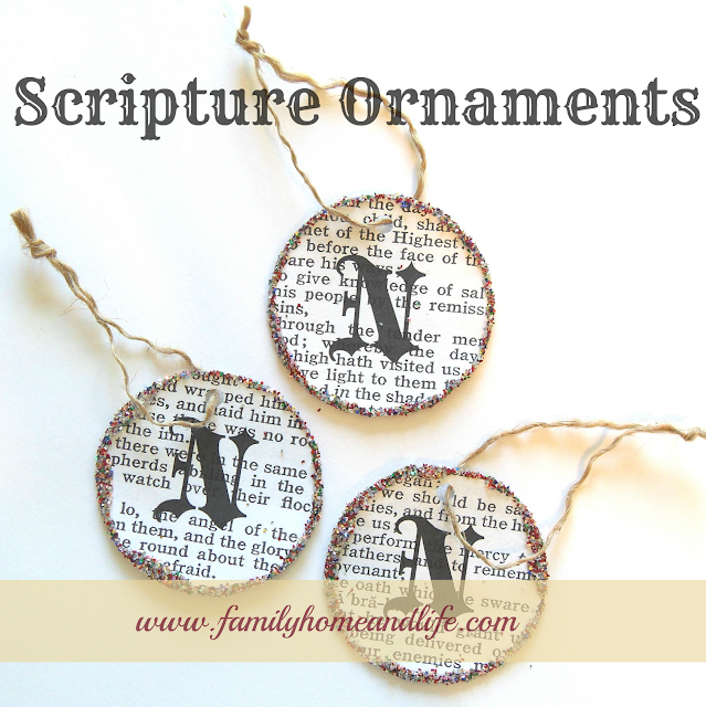 Christmas Tree In The Bible Scripture: Last Minute Christmas Ideas