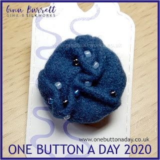 One Button a Day 2020 by Gina Barrett Day 35: Swathe