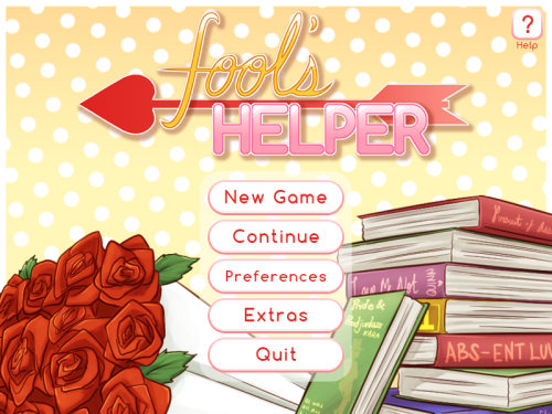 fool's helper otome visual novel