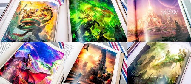 World of Warcraft - Crônica: Volume I - Ilustrações