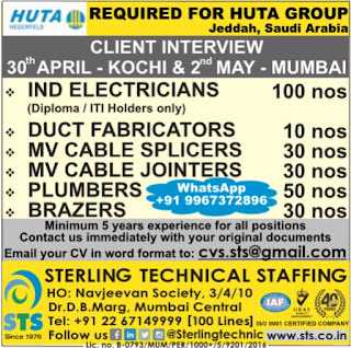 Huta Hegerfeld jobs in Saudi Arabia