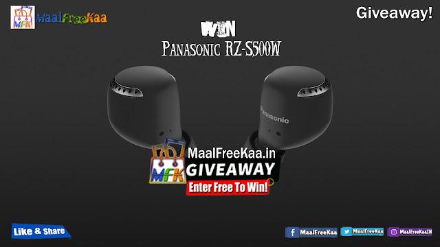 Giveaways win Panasonic RZ S500W
