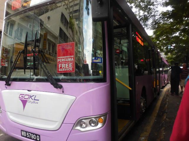 Bus gratis di kuala lumpur