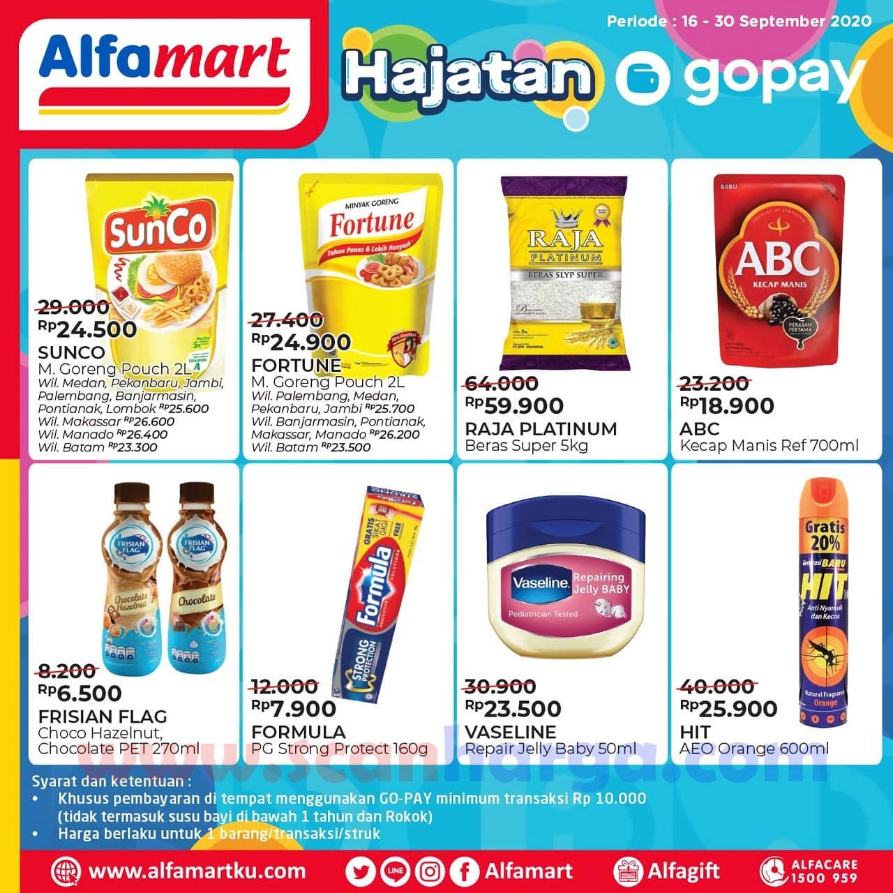 Promo Alfamart GoPay Hajatan 16 - 30 September 2020