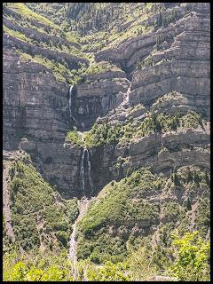 Bridal Veil Falls From Lost Creek Falls Trail