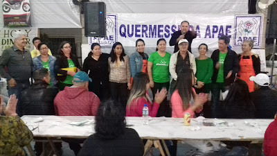 APAE de Registro-SP realiza quermesse com sucesso de público