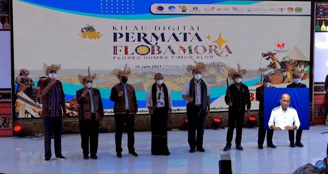launching kilau digital flobamora