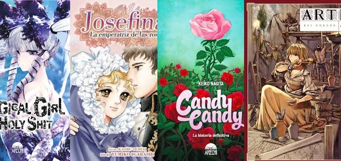 Novedades Arechi Manga para mayo 2021