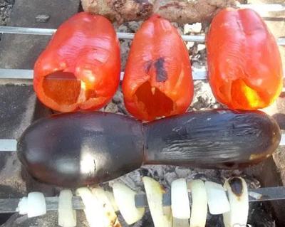 Paprika dan Terong