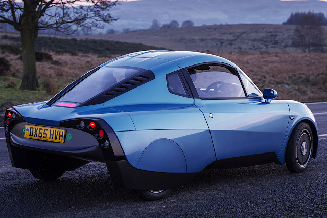 The Riversimple RASA - Ground breaking hydrogen powered car to be displayed at the London Motor Show