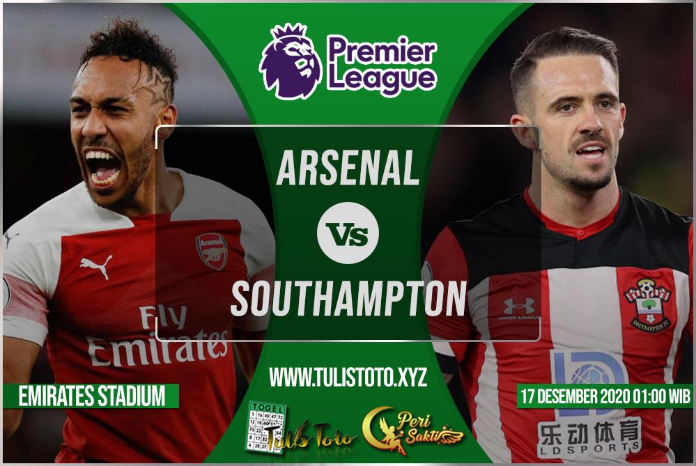 Prediksi Arsenal vs Southampton 17 Desember 2020