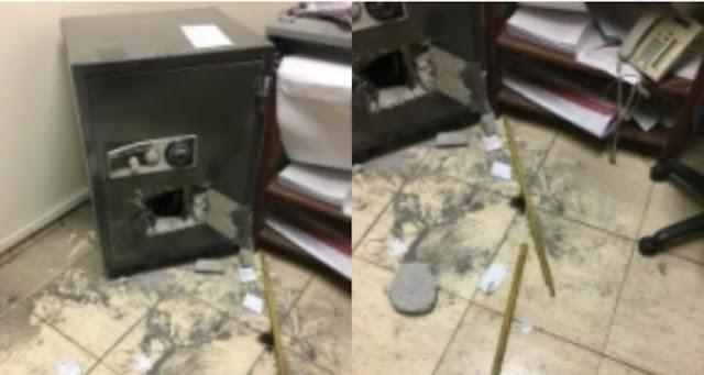 Vigilante robó supuestamente una caja fuerte con más de 4 millones de pesos en una zona franca