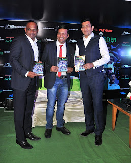 """A SUCCESSFUL AUTHOR, BIKER & ENTREPRENEUR KAPIL PATHARE'S BOOK """"A TALL ORDER"""" WAS UNVEIILED BY SRILANKAN CRICKET LEGEND SANATH JAYASURYA"""