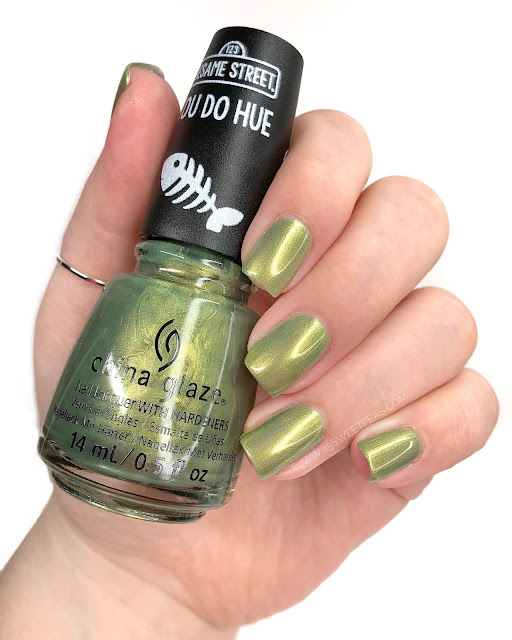 China Glaze Trash Can-Do Attitude 25 Sweetpeas