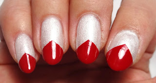 Red Nail Tips