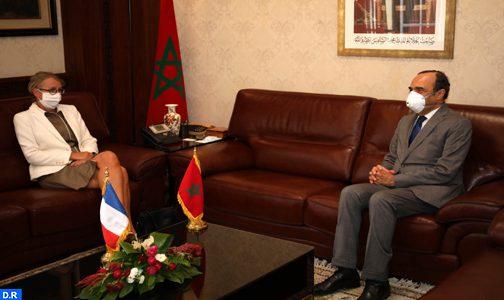 سفيرة فرنسا بالرباط تؤكد حرص بلادها على تعزيز علاقات الصداقة والتعاون مع المغرب