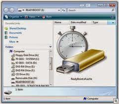 Menambah RAM PC Laptop dengan USB