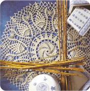 """Tapete """"De oriente a poniente"""" a Crochet"""