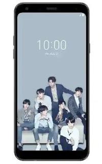 smartphone LG Q7 edisi K-Pop