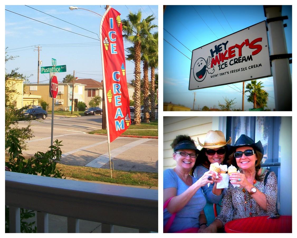 Our New Favorite Icecream Shop On Galveston Island