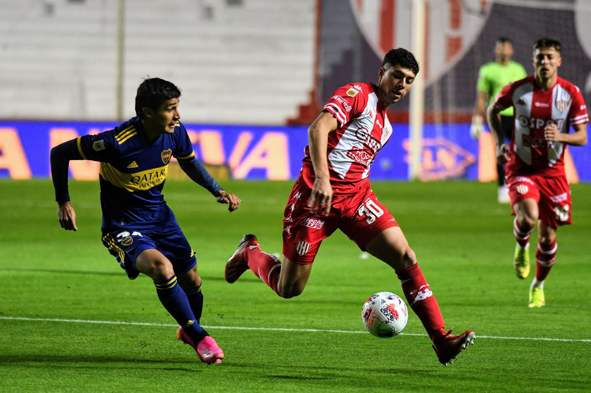 Boca, con un flojo equipo alternativo, empató ante el punzante Unión