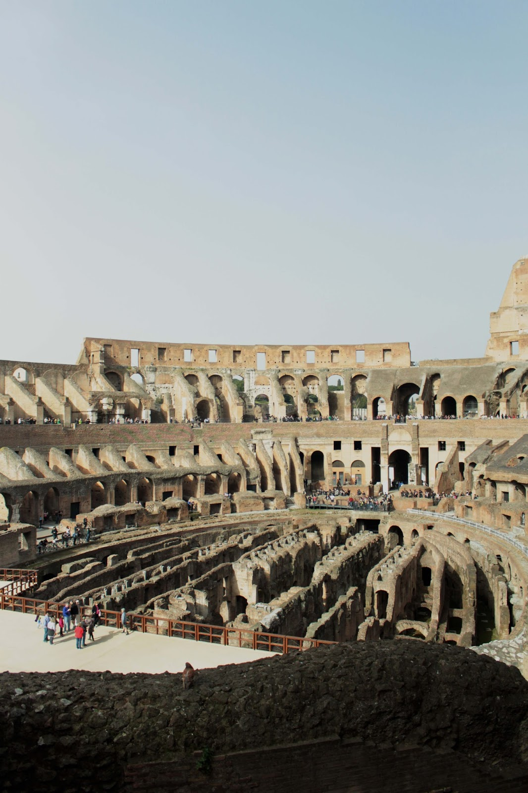 the colosseum rome - uk travel blogger