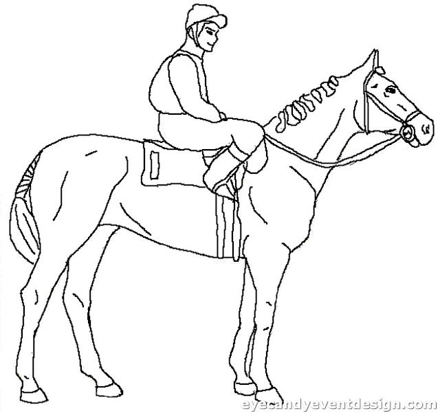 Ausmalbilder Mandala Pferde Kostenlos
