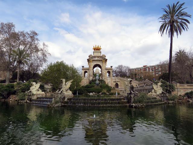 Cascada (Waterfall) by Josep Fontserè i Mestre, Parc de la Ciutadella (Citadel Park), Barcelona