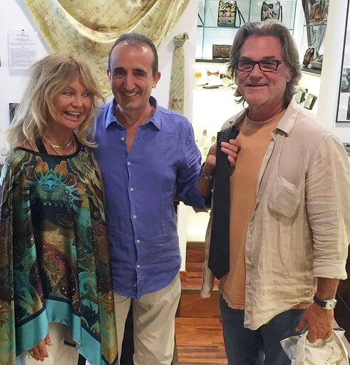 goldiehawn, kurtrussell, pierangelomasciadri, fashioninterview, bellagioitaly, visityitaly2019