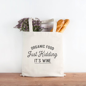Organic Food Tote on Etsy