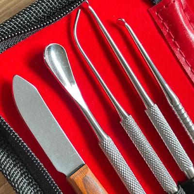 Stainless steel sculpting tool set