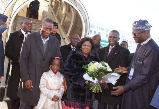 president jonathan in france