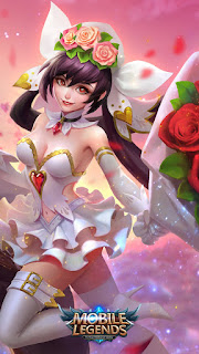 Layla Cannon and Roses Heroes Marksman of Skins Event Valentine V2