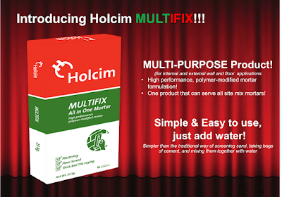 Holcim Philippines Launches New Eco-Friendly Mortar Product - Multifix
