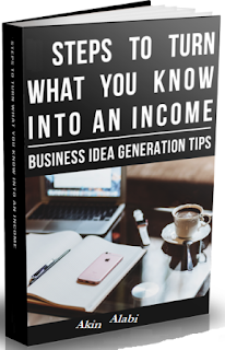 Book Cover for Steps to Turn what you Know into an Income