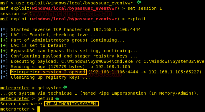 Multiple Ways to Bypass UAC using Metasploit