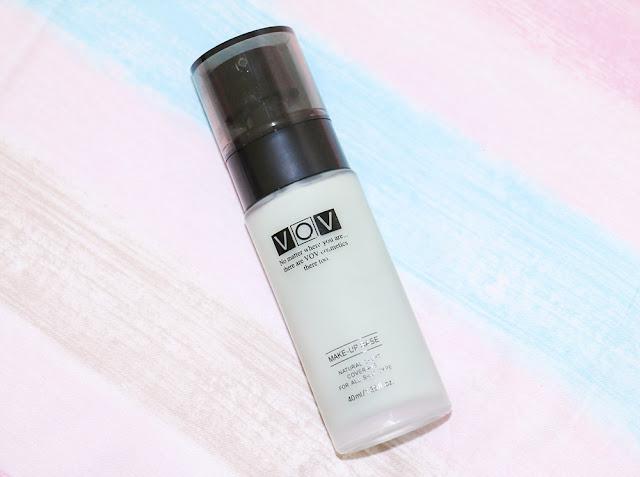 VOV Green Make-Up Base Review