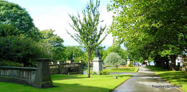 Saint John's Garden, área verde no centro de Liverpool