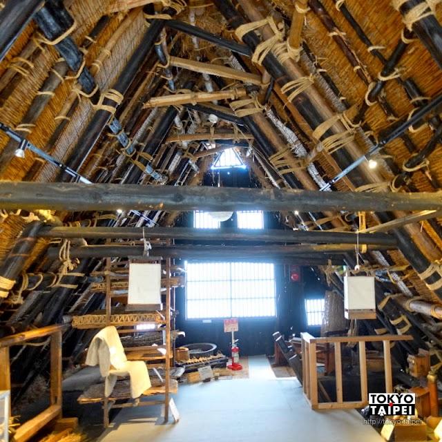 【相倉傳統產業館】走入曾是民家的合掌造 參觀在地產業古老生產器具