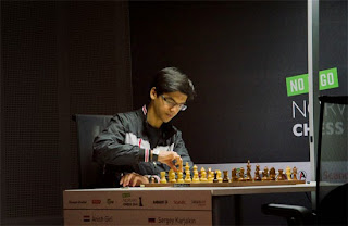 Echecs : Anish Giri (2752) 0-1 Sergey Karjakin (2771)   - Photo Chessbase