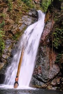 waterfall located in the village haratai district loksado hulu sungai selatan south kalimantan indonesia kandangan as district capital of