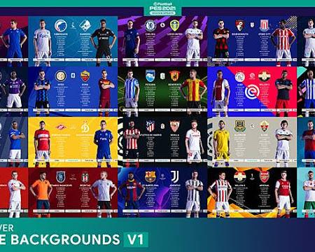 PES 2021 League & Cups Backgrounds V1
