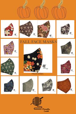 Handmade Face Masks for Fall