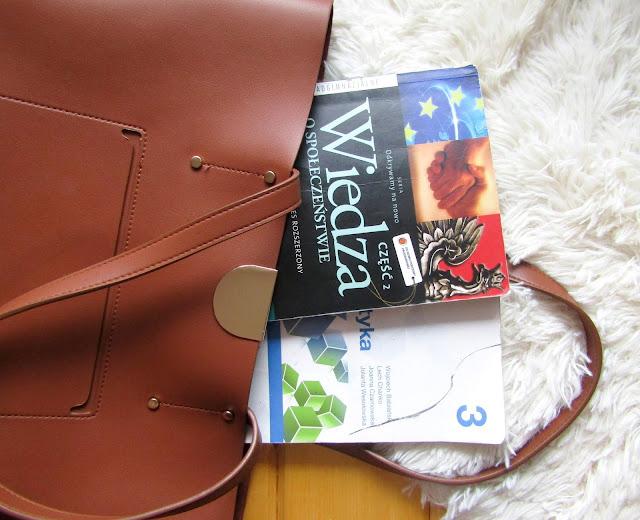 pakowanie, back to school, torba do szkoły, wyposażenie, książki